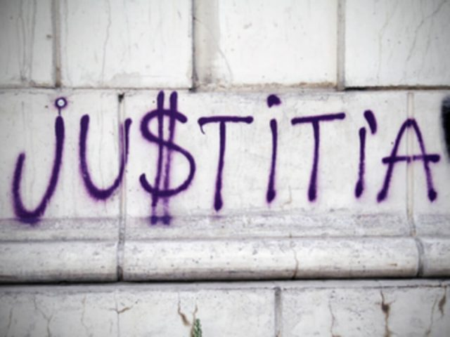 Graffiti: Justitia